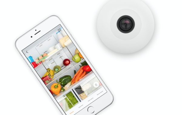 Image result for FridgeCam lets you make your dumb fridge smart with a simple camera