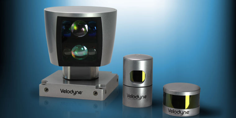 Velodyne invented modern lidar—it's about to face real competition