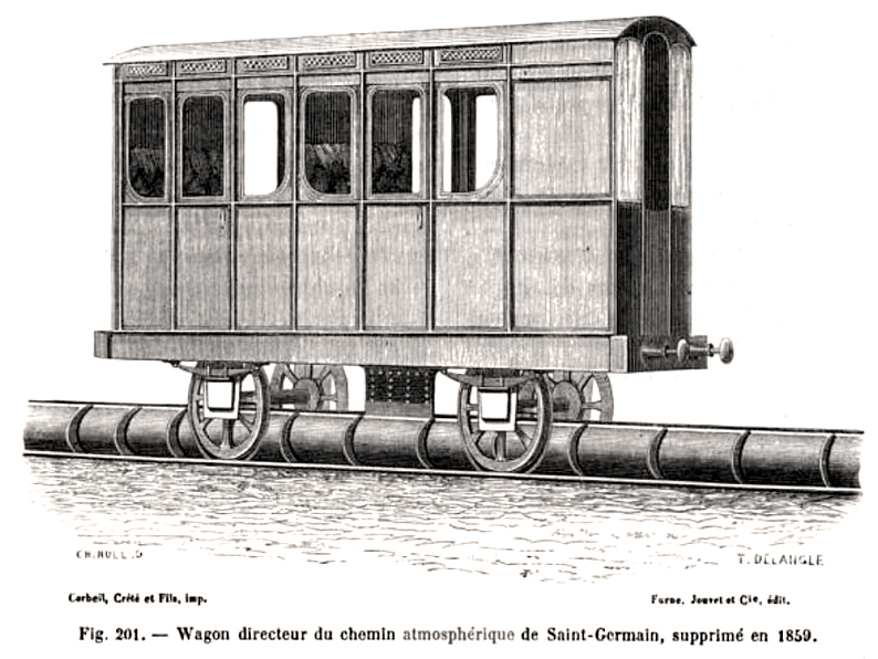 Before the 760mph Hyperloop dream, there was the atmospheric railway