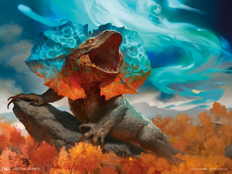 Aether Revolt spoiler: If Godzilla mated with a magical electric eel...