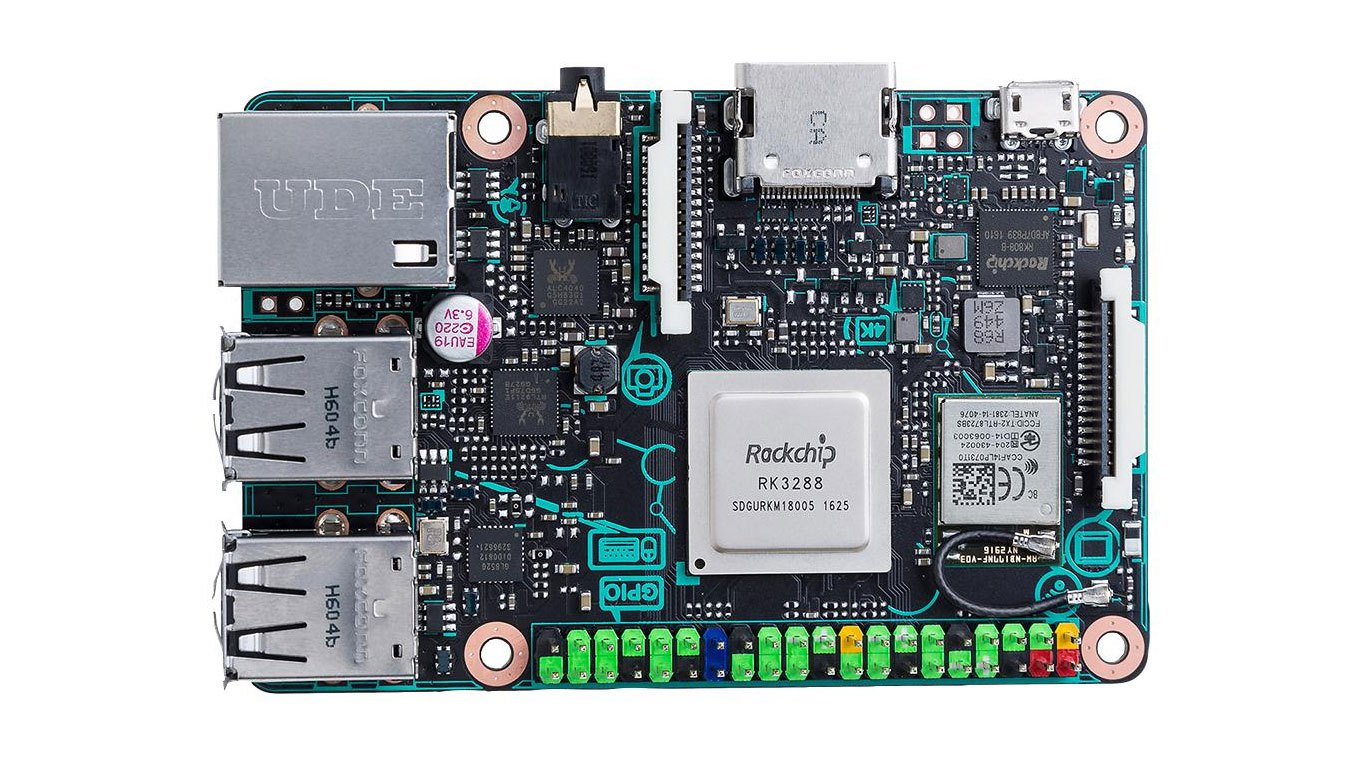 Asus Takes On Raspberry Pi With 4k Capable Tinker Board