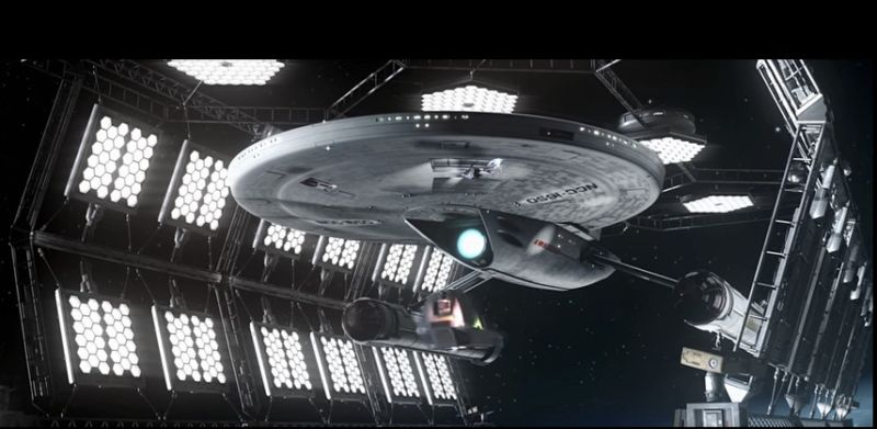 The newly imagined USS Ares, as seen in the <em>Prelude to Axanar</em> short film.
