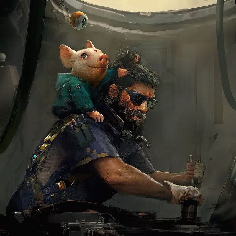The highly anticipated <i>Beyond Good &amp; Evil 2</i> (shown here in concept art) could be a Nintendo Switch timed exclusive, according to a recent report.