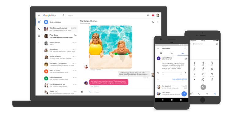 Google Voice gets its first big update in five years, adds new UI and features