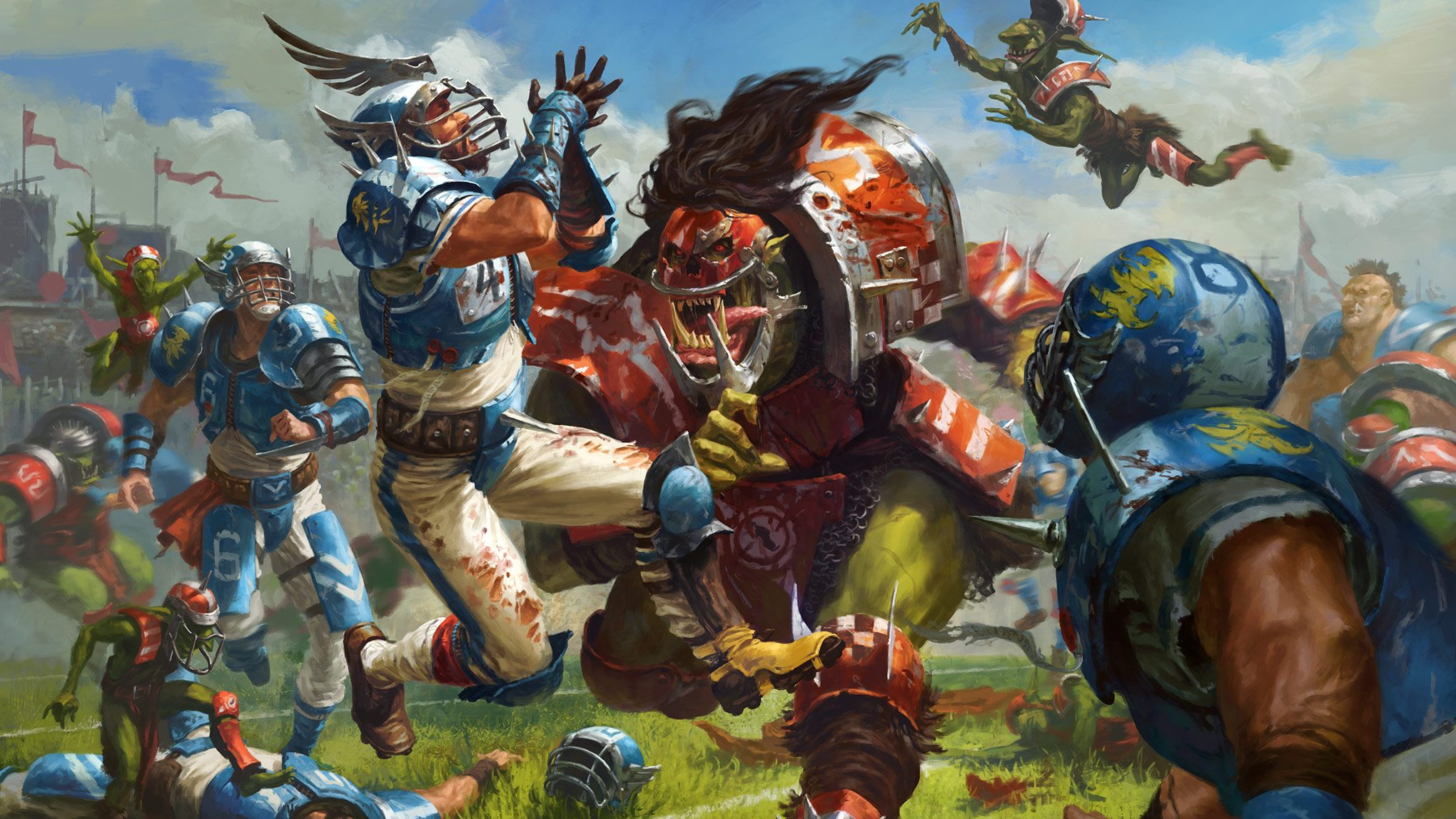 Blood Bowl Review A Triumphant Return After 22 Years Out Of Print