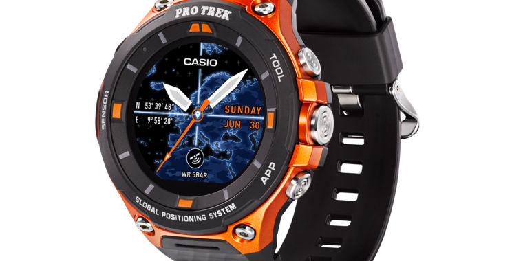 casio s new outdoor watch is one of the first android wear 2 0 devices ars technica. Black Bedroom Furniture Sets. Home Design Ideas