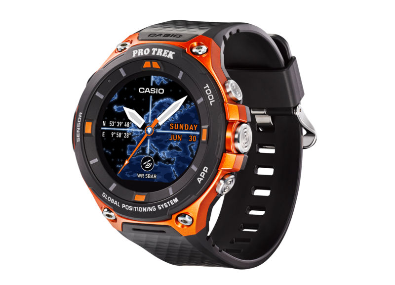 Casio's outdoor smartwatch adds Global Positioning System  but has terrible  battery life