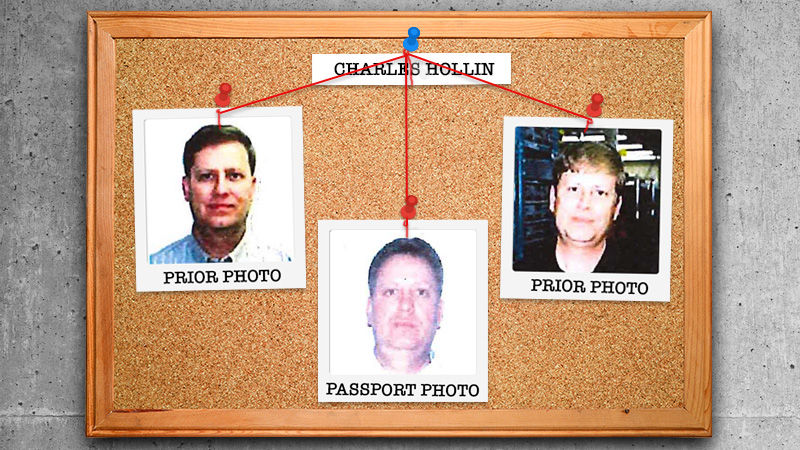 Nearly two-decade-old photos of a suspected child molester matched a 2007 passport photo via a biometrics analysis by the FBI, leading to Charles Hollin's arrest in Oregon.