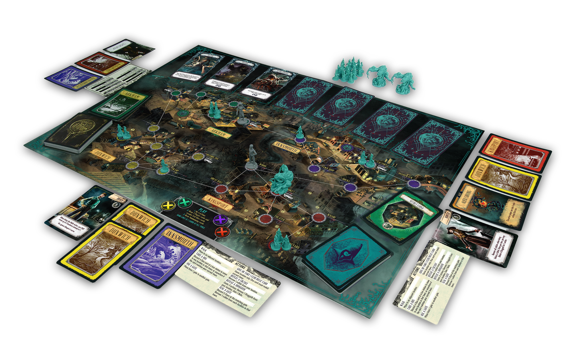 Circuit Board Gaming Information Of Wiring Diagram Games Pandemic Reign Cthulhu Is A Surprisingly Solid Game Ars Rh Arstechnica Com For Kids Best