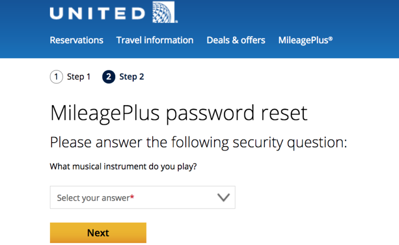 Account recovery programs like this one from United Airlines pose a significant threat to users.