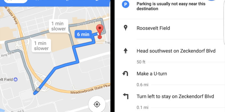 Google Maps May Soon Show How Difficult Parking is Near your Destination