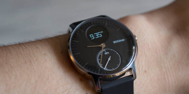 Withings Steel HR review: Classy on the outside ...
