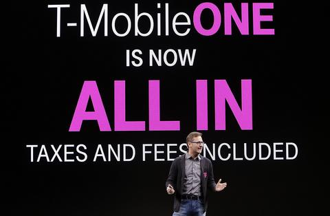 T-Mobile COO Mike Sievert.