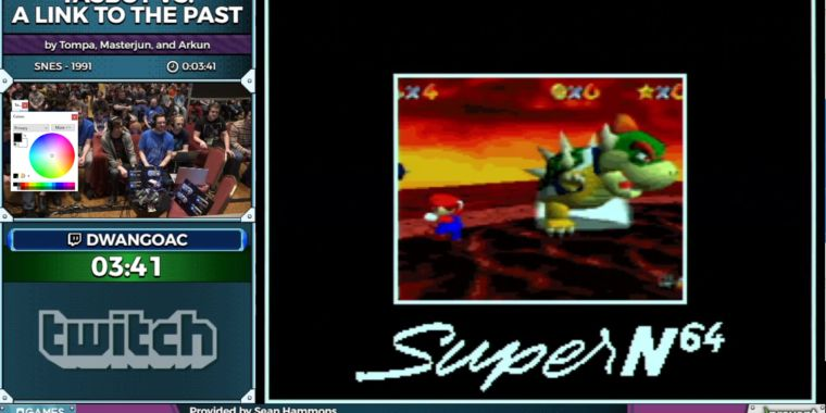 """How a robot got Super Mario 64 and Portal """"running"""" on an"""