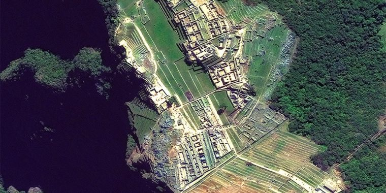 Discover archaeological treasures in these satellite images