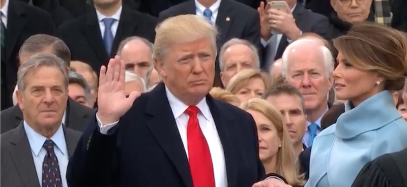 Donald Trump takes the oath of office Friday, becoming the 45th president of the United States.