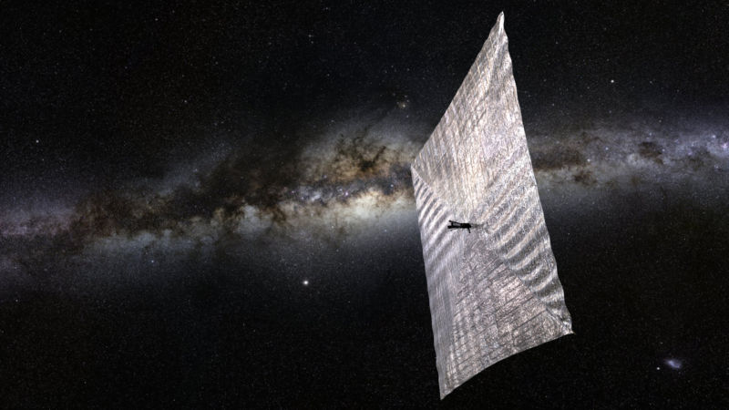 Calculating what it would take to park a solar sail at Alpha Centauri