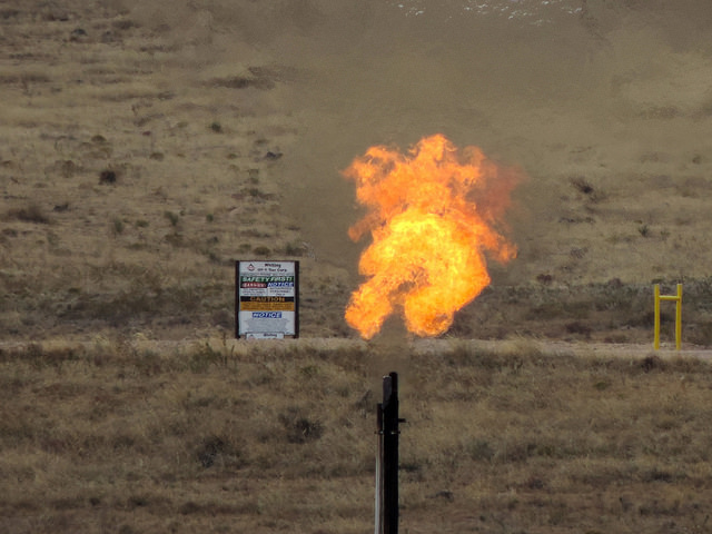 The House voted to roll back rules on methane flaring this week.