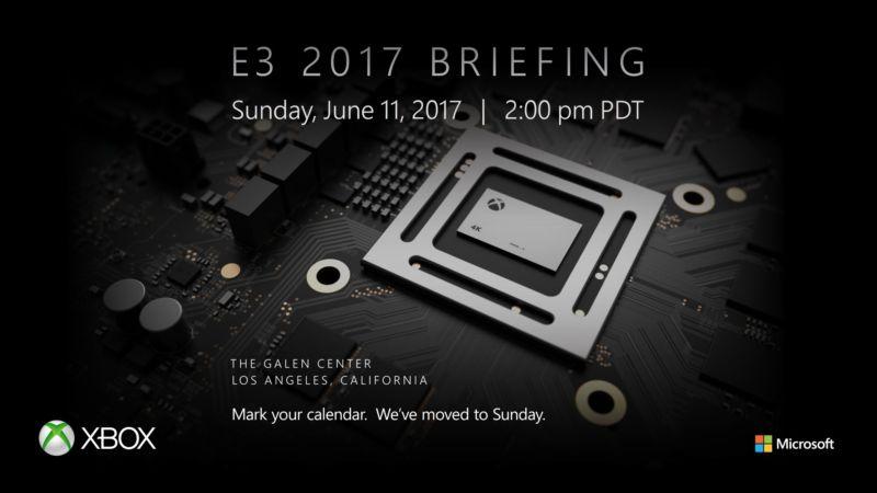 Xbox Project Scorpio will be at E3