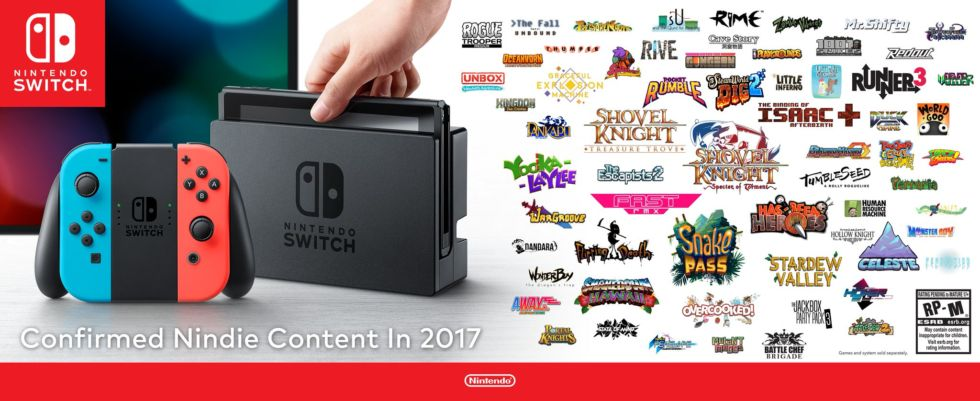 Upcoming Nindies infographic.
