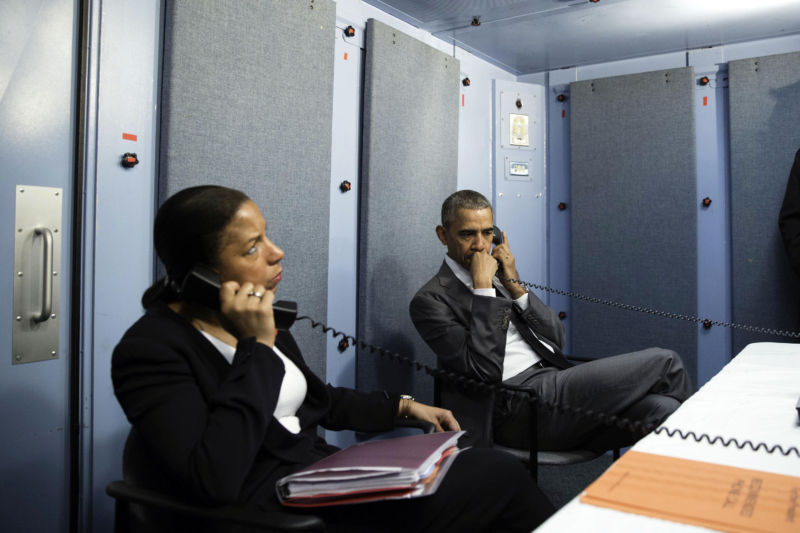 National Security Advisor Susan Rice, seen here in March 2016, was one of the former Obama Administration officials who have opposed the Trump executive order.