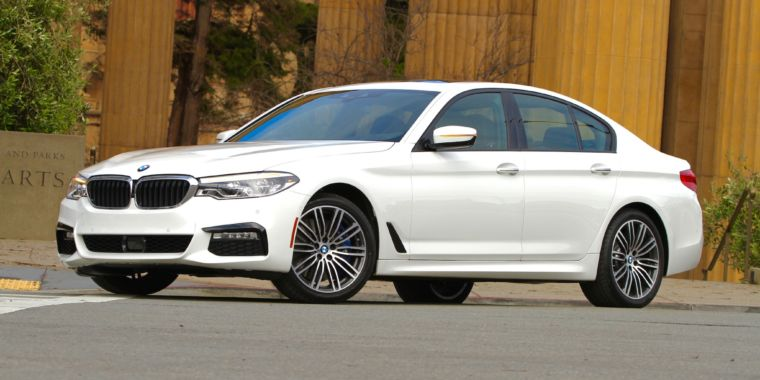 BMW's All-new 2017 5 Series Stirs up a Technology Tsunami