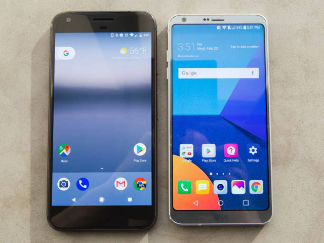 LG G6 hands-on: A beautiful design with a disappointing