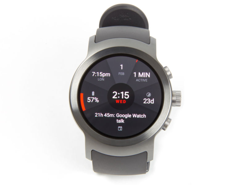 The LG Watch Sport.