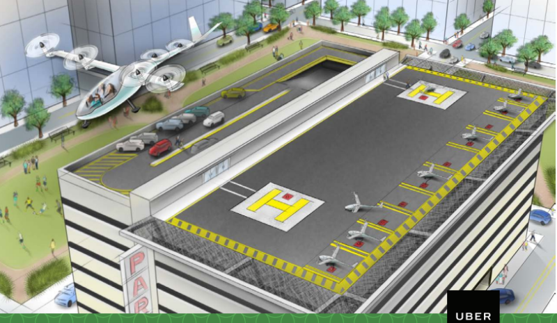 Uber hires NASA engineer to work on its flying car vision