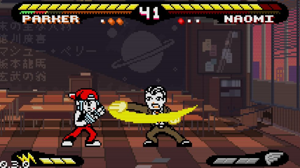 Yes, <em>Pocket Rumble</em> is the simplest looking of this week's brand-new Nindies games, but its designs pop brightly, and that helps for the use-case scenario described below.