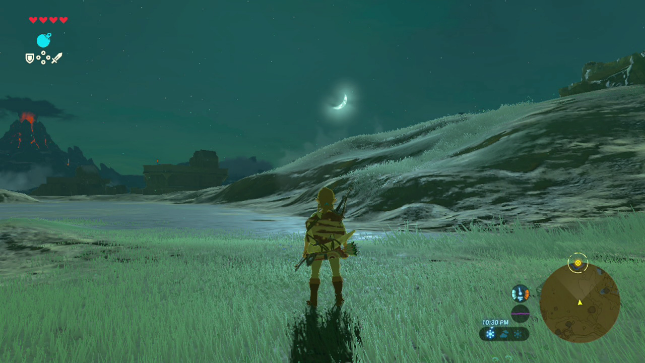 And as a harvest moon rose over Cyber-Hyrule, we reared back and sprang into a gallop, leaping out of orbit!