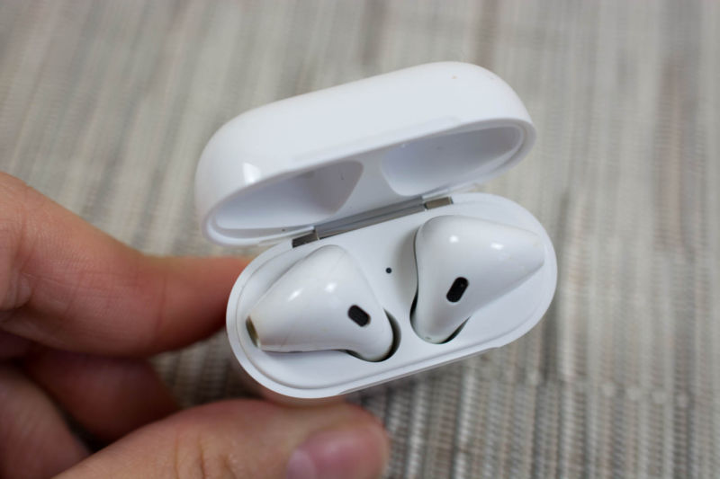 The first generation AirPods.