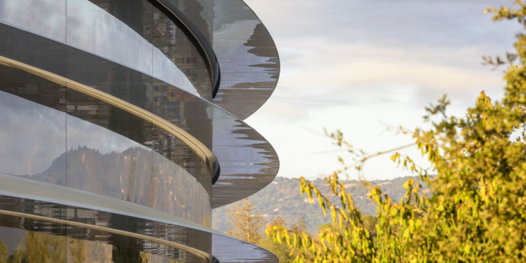 Apples New Spaceship Campus Gets A Name Lifts Off In April