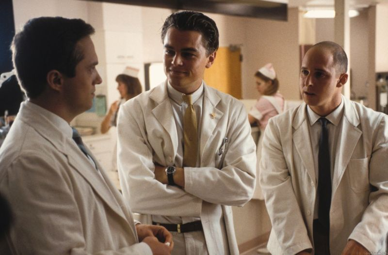Frank Abagnale, as played by Leonardo DiCaprio in <em>Catch Me If You Can</em>, once pretended to be a doctor. Now he's teaching the health industry about the threat of identity theft.