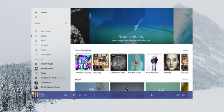 "New Windows look and feel, Neon, is officially the ""Microsoft Fluent Design System"""