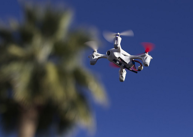 30 days jail for operator of drone that knocked woman unconscious