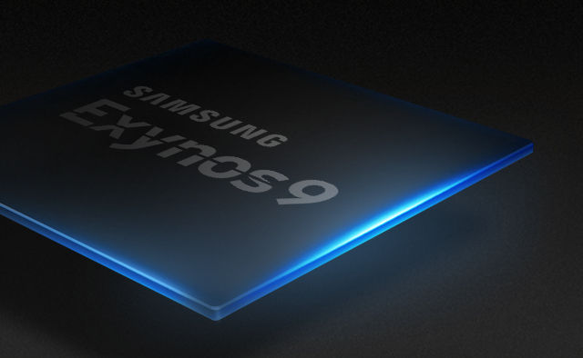 (A fancy render of) Samsung's latest high-end phone chip.