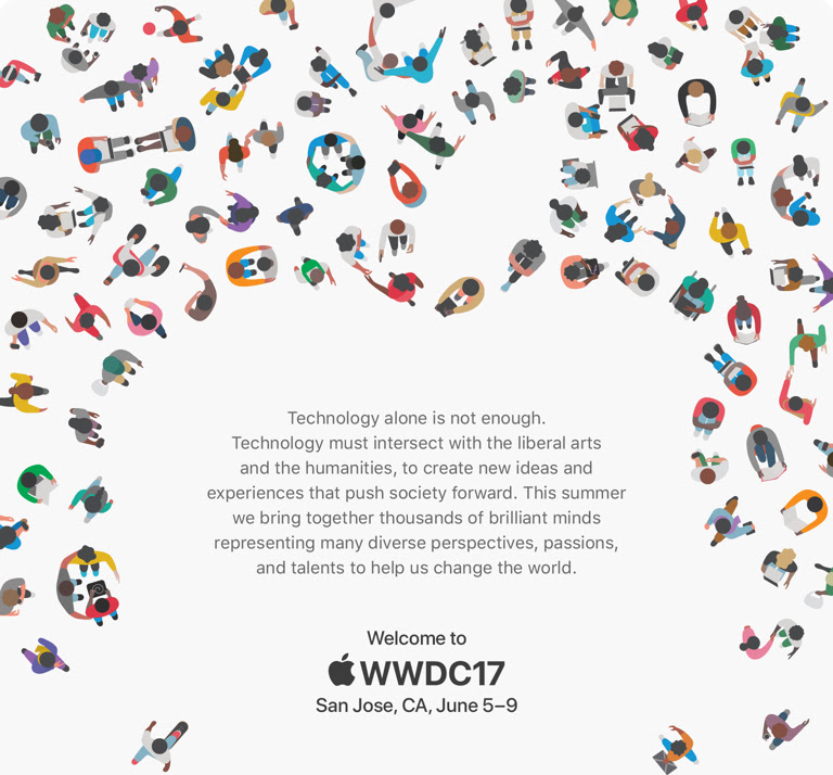 Apple's WWDC announcement.