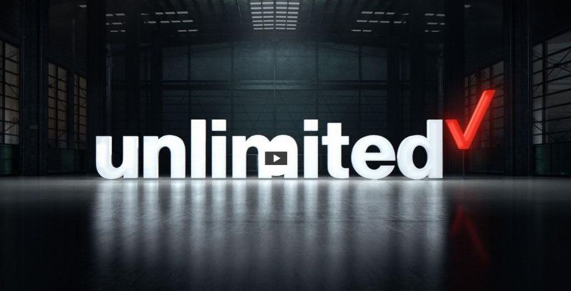 Verizon offers unlimited data and won't throttle video (unlike T-Mobile)