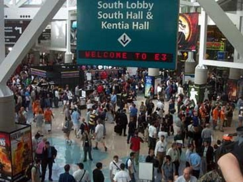 This vintage photo, from my first ever E3 in 2004, shows you the crowds you can expect to fight through for three days straight.