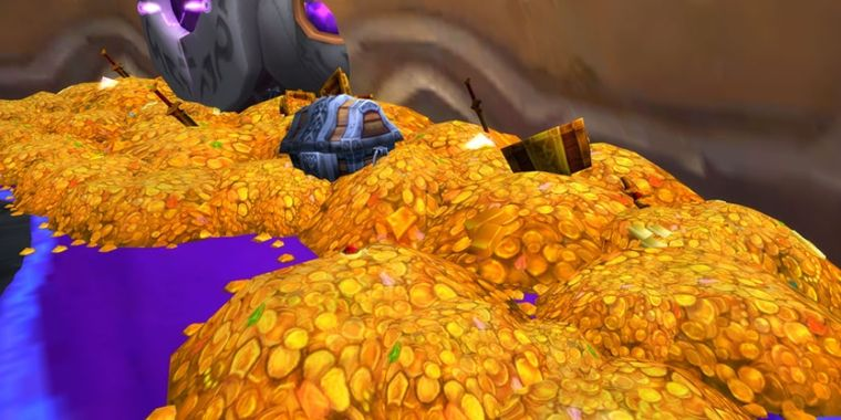 World of Warcraft gold can now be used to buy other Blizzard items