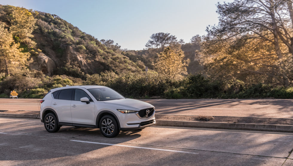 The CX-5 is a better drive than several of the crossovers Mazda benchmarked, but it's not a canyon carver.