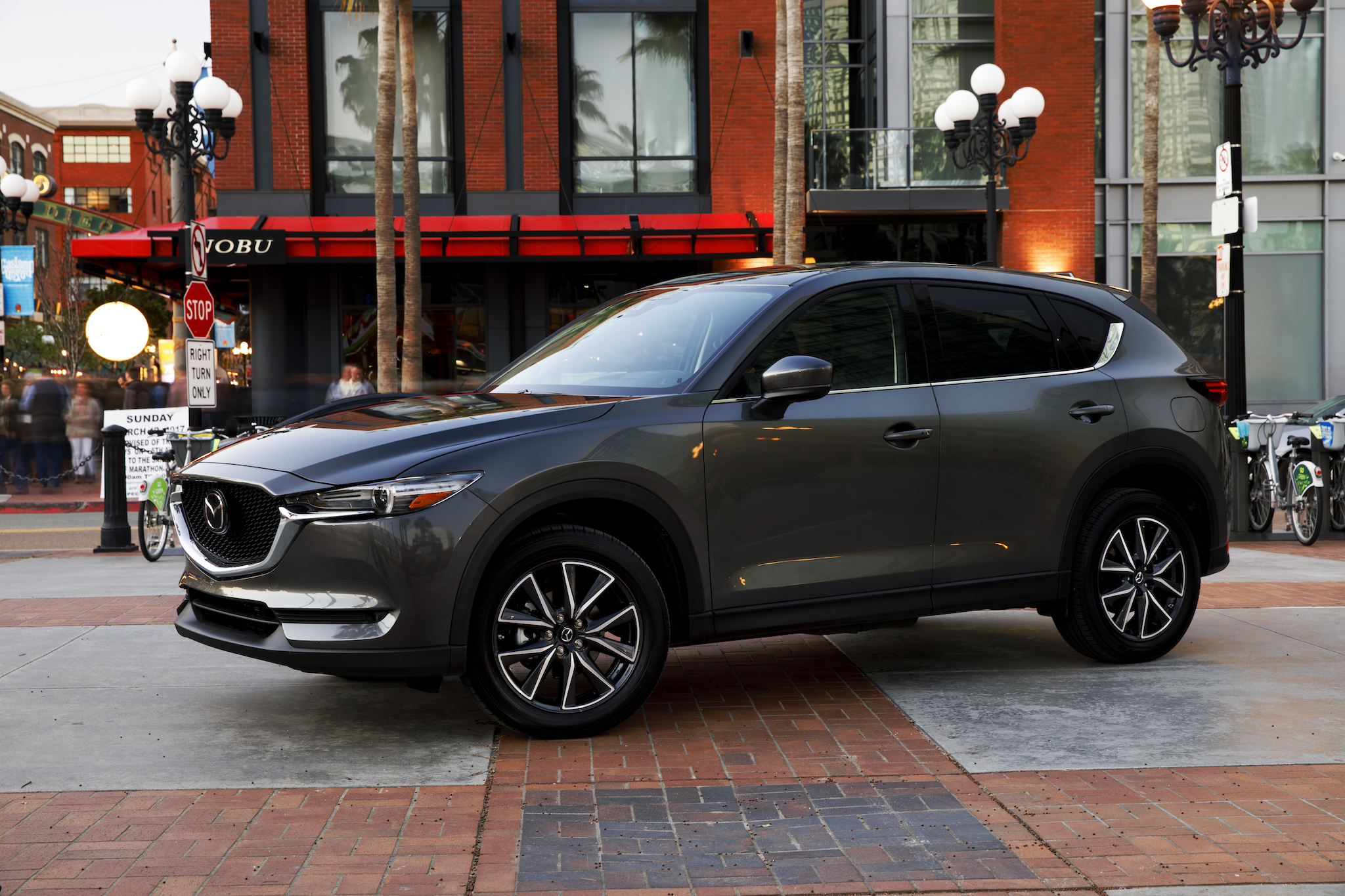 Mazda Aims At The Likes Of Bmw And Audi With Its New Crossover