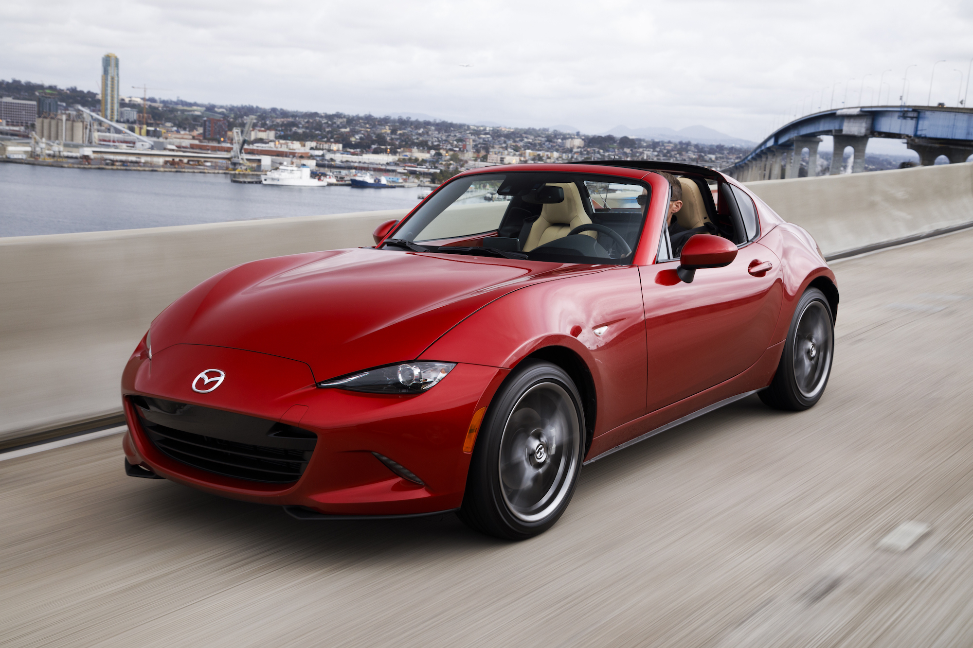 the 2017 mazda mx-5 miata rf—fancy new looks, same great driving