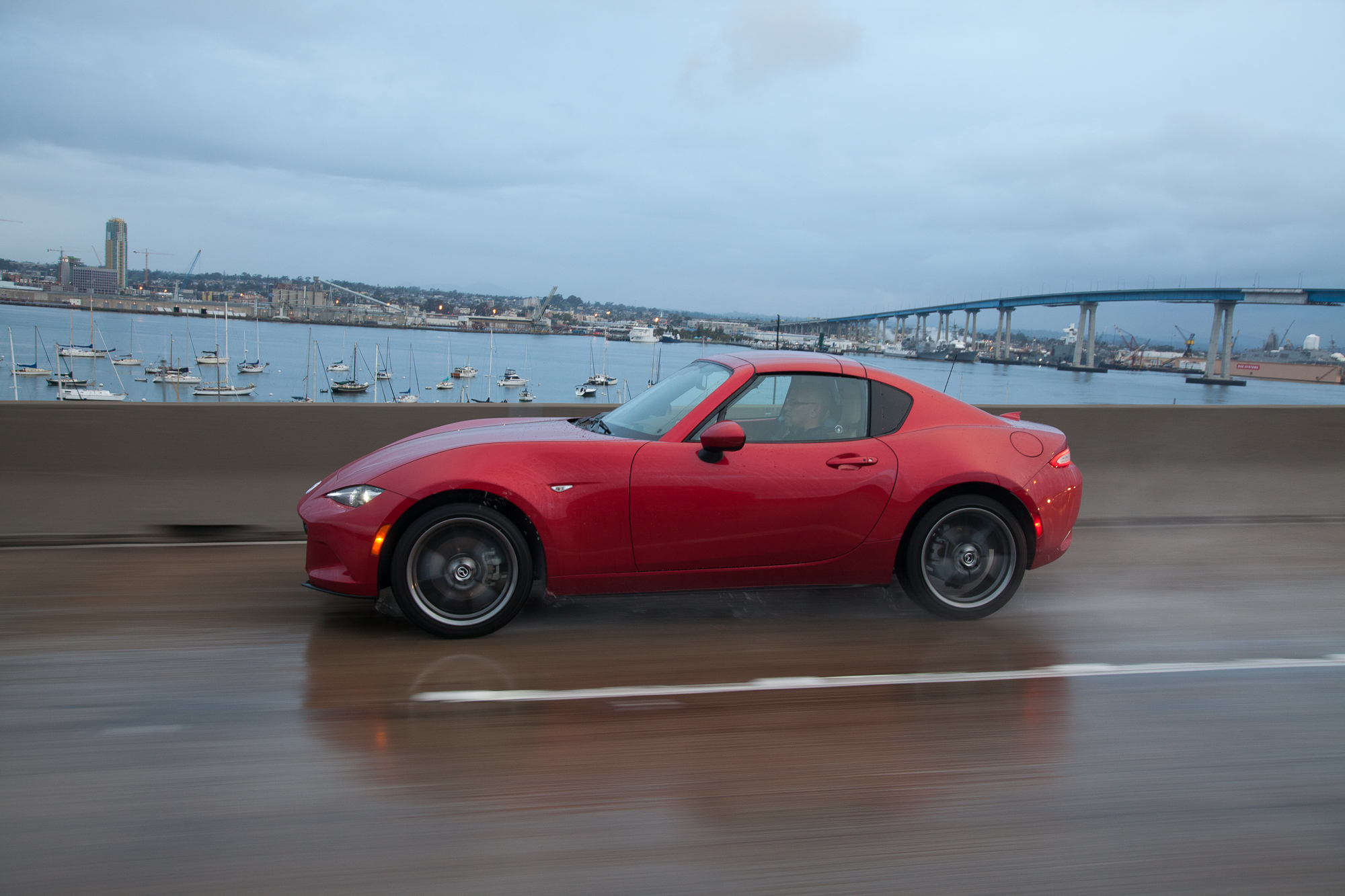 The 2017 Mazda MX-5 Miata RF—fancy new looks, same great