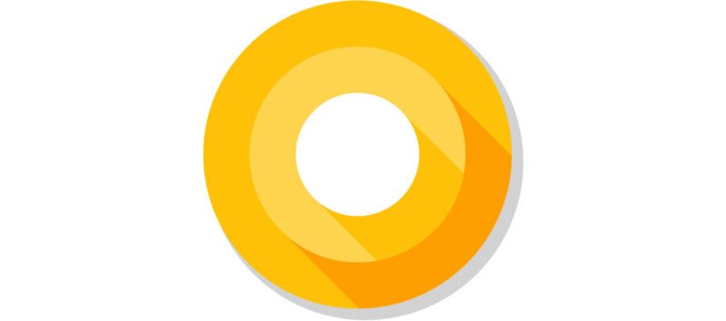 The new Android O logo.