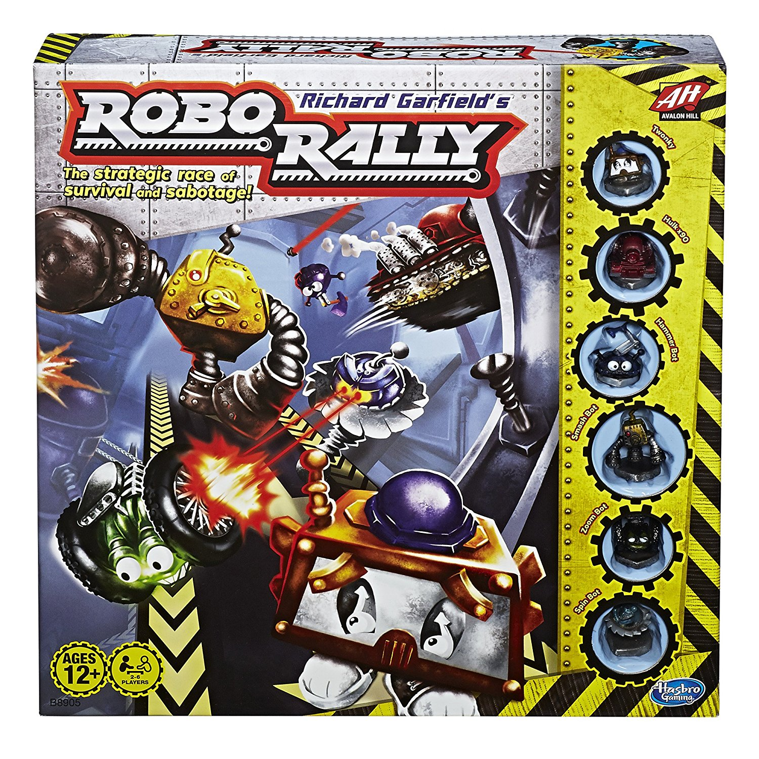 Classic Bot Programming Game Robo Rally Has Not Aged Well