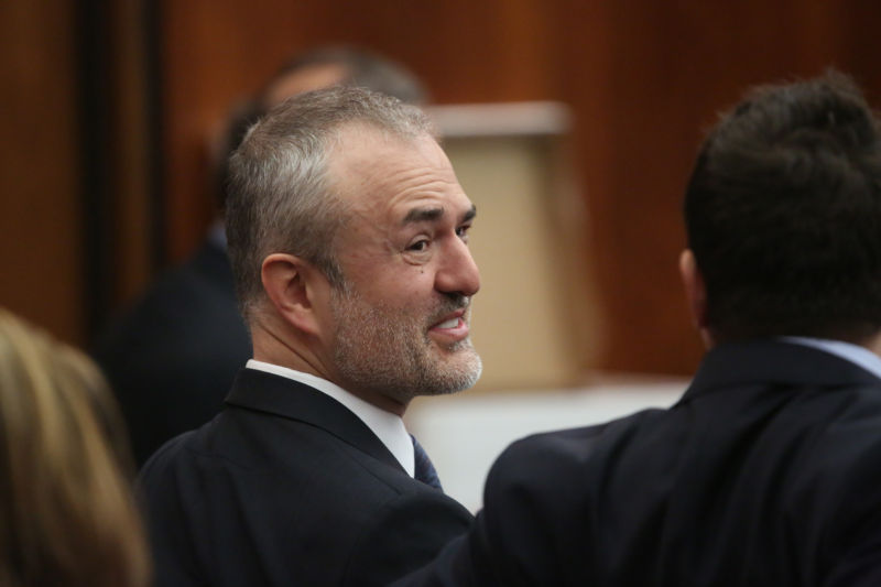 Nick Denton during the trial against Gawker Media in March 2016.