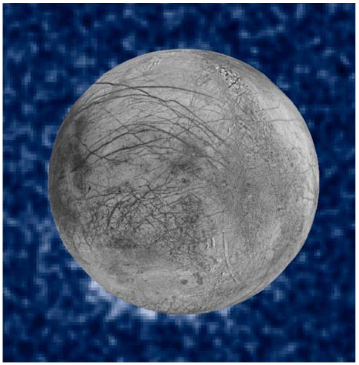 The Hubble Space Telescope has found evidence of plumes emanating from Europa, but nothing definitive.