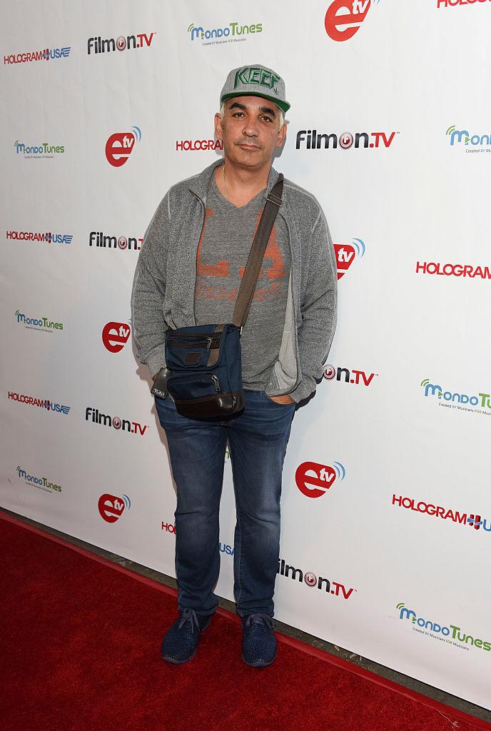 """FilmOn CEO Alkiviades """"Alki"""" David at an event in Los Angeles in 2015."""